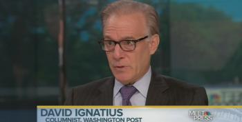 WaPo Columnist Ignatius Plays The False Equivalency Game On Iraq