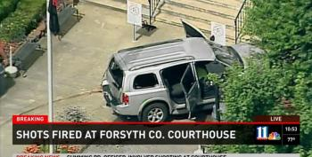 'Sovereign Citizen' Opens Fire, Tries To Blow Up Georgia Courthouse