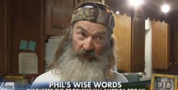 Duck Dynasty's Phil Robertson Is Just 'Trying To Help Those Poor Gays' Find Jesus
