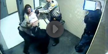 Woman Force-Stripped, Pepper Sprayed, Left Naked For Hours In Indiana Jail (Video)