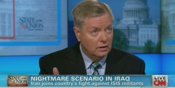 Graham Wants More War So Badly He's Now Willing To Work With Iran