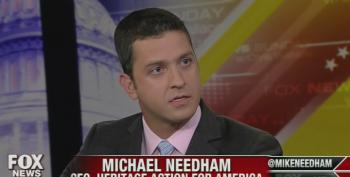 Heritage's Needham Blames President Obama For Not Having Any Good Options In Iraq