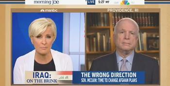 Mika Brzezinski Dukes It Out With John McCain Over Iraq War