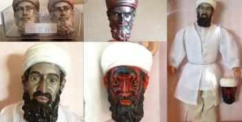 CIA Planned Psyops Using Magical Melting Osama Bin Laden Demon Dolls To Terrify Afghan Children