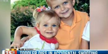 Another Responsible Gun Owner Kills Baby Sister With His New Rifle