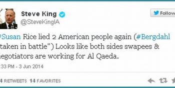 Steve King States Susan Rice Is Working For Al Qaeda