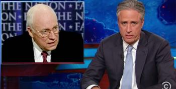 Jon Stewart Blasts Dark Vader: Dick Cheney Is 'America's Tragedy Herpe'