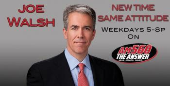 Tea Party Hero Joe Walsh Kicked Off The Air For Using The N-Word