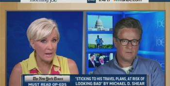 Morning Joe Team Jousts Over St. Ronnie's Response To Korean Air Downing