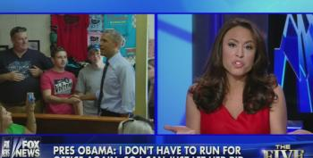 Obama Lands Hard Punch; Fox Talkers Squeal Like Stuck Pigs