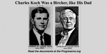 New Documents Prove Charles Koch Was John Birch Society Member During Civil Rights Movement