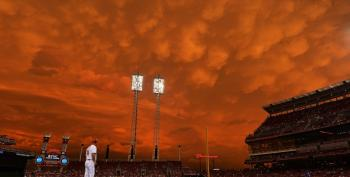 Open Thread - Skies Over Cincinnati