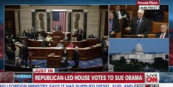House GOP Unilaterally Votes To Advance Boehner's Lawsuit (Updated)