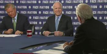 Senators McCain, Graham Blame Obama For Congress' Lazy Ways