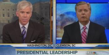 Lindsey Graham Blames Obama For Every Problem On Earth While David Gregory Nods
