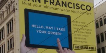 Billionaires Tell Workers No Minimum Wage Increase, We'll Use IPads Instead