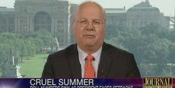 Rove: Obama's Low Poll Numbers Self-Inflicted, Unlike Bush's Which Were Due To Katrina And Iraq