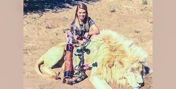 Fox Guest: Texas Cheerleader Was Killing 'Nuisance Animals' By Hunting Lions And Elephants