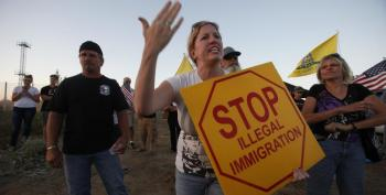 Racist Murrieta Residents Terrorize Bus Full Of Immigrant Kids
