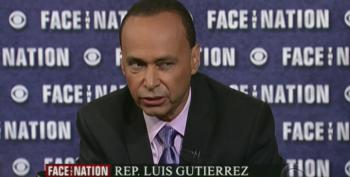Face The Nation: Rep. Gutierrez Destroys GOP Border Crisis Lies