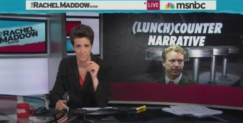 Rachel Maddow Calls Out Rand Paul For Flip Flopping On The Civil Rights Act