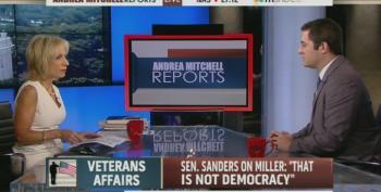 Andrea Mitchell Allows IAVA's Tarantino To Attack Sen. Bernie Sanders For The GOP Obstructing His VA Bill
