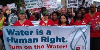 Detroit Stops Water Shutoffs -- Temporarily