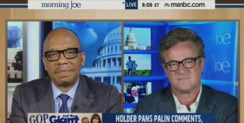 Eugene Robinson Corrects Joe Scarborough After He Misquotes Eric Holder