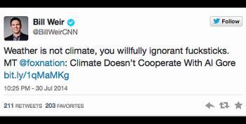 CNN Anchor Bill Weir Angers Fox Nation, Calling Them 'Ignorant F*cksticks'