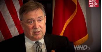 Rep. Steve Stockman Compares Migrant Children To U.S. Army Invading France