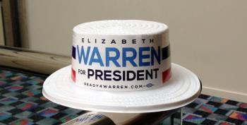 Sen. Elizabeth Warren Tells Netroots: 'Push Back And Fight Hard'