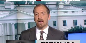 Chuck Todd Craves Acceptance Of His Corporatist Views On MTP