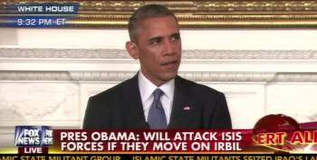 Breaking: Obama Authorizes Targeted Airstrikes To Break Siege In Iraq