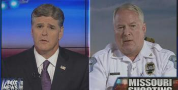 Ferguson Police Chief Turns To Hannity To Handle His PR