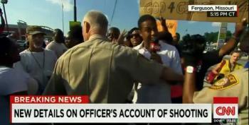 CNN's Don Lemon Pushed Off Sidewalk By Cop Policing Protest