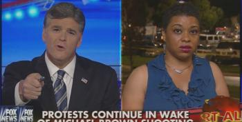 Hannity Mansplains Justice To Black Committeewoman From Ferguson