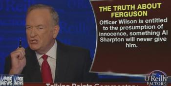 Bill O'Reilly Comes Back From Vacation Early To Rail Against Al Sharpton And Media Coverage Of Ferguson