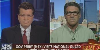 Rick Perry Attacks Harry Reid And President Obama After Being Called Out For Political Stunt On The Border