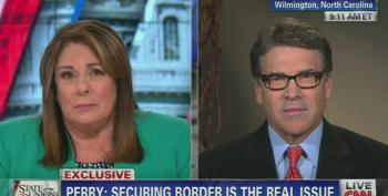 CNN's Crowley Tells Rick Perry His 3000 Homicides At The Border 'Figure Is Wildly Off'