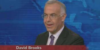 David Brooks Hopes Someone At His Paper Is Investigating The Militarization Of Police Forces