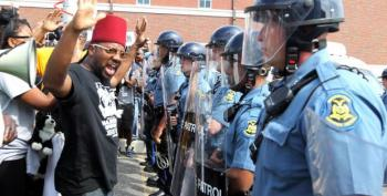 Ferguson Cop Caught On Tape Calling Protesters 'F*cking Animals'