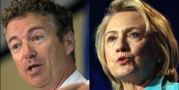 Rand Paul Calls Hillary Clinton A 'War Hawk'