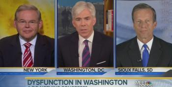 David Gregory Thinks Both Sides Are Guilty Of Republican Gridlock