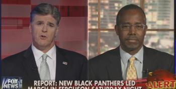 Fox's Hannity And Carson Use Unrest In Ferguson To Pretend Black Community Doesn't Care About Crime And Poverty