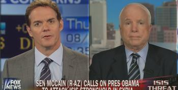 McCain Says We Need U.S. 'Boots On The Ground' In Iraq -- But Not 'Combat Troops'