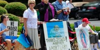 Nets Keep Anti-Abortion Protesters Off Huntsville, AL School Grounds