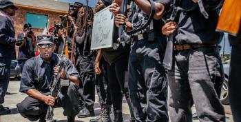 Hartmann: How Long Before Texas Changes Open Carry Laws Now That Group Named After Black Panther Leader Is Taking To The Streets?