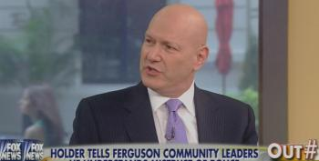 Fox's Ablow Attacks Eric Holder For 'Fanning Flames Of Racial Unrest' In Ferguson