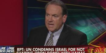 Self-Proclaimed 'Christian' Mike Huckabee Attacks U.N. For 'Whining' About Israel Bombing Gazan Schools