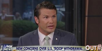 Fox's Hegseth Wants U.S. To 'Mow The Lawn' To Get Rid Of 'Bad Guys' In The Middle East